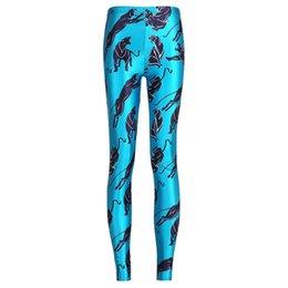 Nouveau sexe animal en Ligne-2017 NOUVEAU 3701 animal sexe panthère Vert 3D Imprime Sexy Fille Crayon Yoga Pantalon GYM Fitness Workout Polyester Femmes Leggings Plus La Taille
