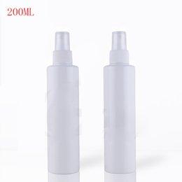 Wholesale Dressed Bottles - 40Pcs lot 200ML white empty Plastic Spray Bottle dressing Flowers Water Sprayer Tool fine mist spray bottle