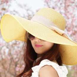 Wholesale Korean Fall Fashion Wholesale - Fashion youth hat woman summer eaves along the sun hat female Korean version of the beach holiday beach sun hat for woman
