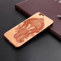 Wholesale Cell Phone Cases Bulk - Bulk Sale cherry wood Phone Case Hard PC back cell phone Case for iPhone 5 5s se 4.0 Inch Skull Head
