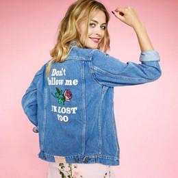Wholesale Blue Jean Jacket Woman - New Arrival Plus Size Women's Jackets Fashion Casual Denim Coat Lady's Short Jacket Modern Jean Jacket Embroider Denim Coats M - 5