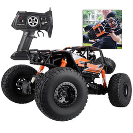 Wholesale Rc Model Off Road - MZ RC Car 4WD 2.4GHz Rock Crawlers Rally climbing Car Remote Control Model Off-Road Vehicle Toy 1:10 Oversized 48cm Bigfoot Car