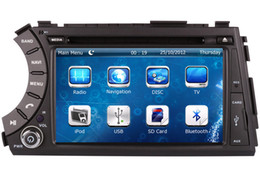 Wholesale Kyron Actyon Dvd - 2-Din Car DVD Player GPS Navigation for Ssangyong Kyron Actyon Tradie Korando with Radio Bluetooth TV AUX SD USB Stereo Audio Video