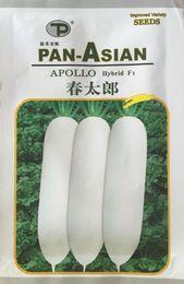 Wholesale Imported Fruit - Vegetable seeds [Kitaro radish imported seeds] early fruit large yield-resistant tundra 15g