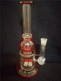 Wholesale Blue Nest - Big stick glass pipe and low side with a variety of imported color tires and wind nest double layer water filtration
