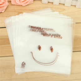 Wholesale Cellophane Cookie Bags - Wholesale- 50 Pcs Cellophane Candy Party Gusset Packaging Bag Clear Cookie Sweet Wedding Birthday Full Stock Clearance