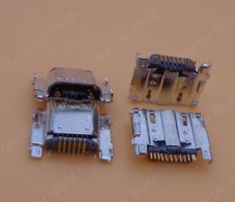 Wholesale Tab Usb Port - 5pcs new charging port dock port plug micro mini female USB jack socket connector for Samsung Galaxy Tab 4 8.0 T330 T331 T335