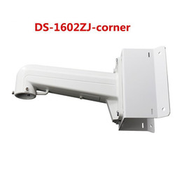 Wholesale Arm Mount Camera - HIKVISION DS-1602ZJ-corner Corner ARM Wall Mount Bracket For Speed Dome PTZ Camera