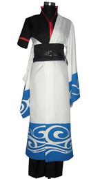 Gintama cosplay gintoki on-line-Sakata Gintoki trajes cosplay conjunto completo anime japonês roupas Gintama