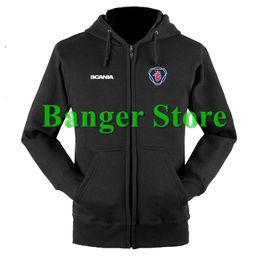 Wholesale Customs Truck - SCANIA truck sweatshirts coat custom scania 4S shop hoodie jacket for men and women