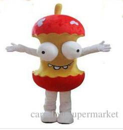 Animar manzana online-2017 de Alta Calidad Material de EVA Casco Animado humor de dibujos animados de la mascota de la manzana traje de Navidad Halloween para adultos ropa envío libre del ccsme