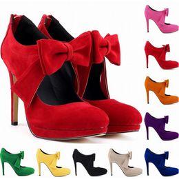 Европа стиль милые девушки обувь платформа высокие каблуки дамы Боути женщины насосы свадебное платье Женская обувь США размер 4-11 D0003 supplier cute wedding shoes от Поставщики милые свадебные туфли