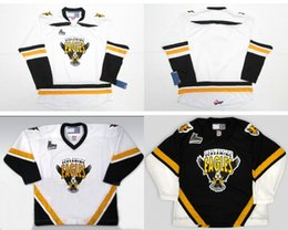 Wholesale Womens Black Cape - Wholesale Customize QMJHL Cape Breton Screaming Eagles Jersey Mens Womens Kids Custom Any Name No. Ice Hockey Cheap Jerseys Goalit Cut