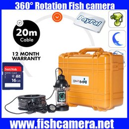Wholesale Underwater Fishing Dvr - Underwater Camera kit Mini Fish finder CCD700TVL for Ice Fishing Camera Kit Portable Night Vision Fish Finder With DVR 20m-100m cable