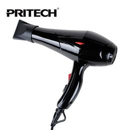 2019 marcas de secador de cabelo Atacado-Pritech Brand Professional secador de cabelo preto Big Power Blow secador para salão de uso familiar cuidados com os cabelos ferramentas frete grátis marcas de secador de cabelo barato