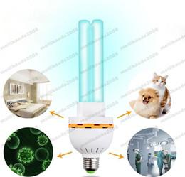 Wholesale Ozone Sterilization - Ultraviolet Lamps UV Ozone Sterilization Lamp 220V 15W Ultraviolet Disinfection Germicidal Lights Lamp for Home E27 MYY