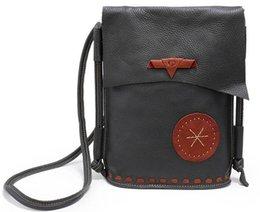 Wholesale Handbag Real - Genuine Leather Shoulder Bag Handmade Messenger Crossbody Bag Real Leather Bucket Causal Handbags Bolsa Feminina