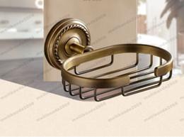 Wholesale Basket Antique - 2017 Antique bronze finish brass Soap basket  soap dish soap holder  bathroom accessories,bathroom furniture & China & Soap basket MYY