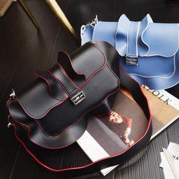 Wholesale Clutch Bags For Girls - 1women shoulder bags famous brand ruffles bag for girl fashion evening party bags female crossbody bag clutch purse handbag 2016