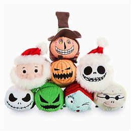 Wholesale Screen Figures - Cheap and high quality Tsum chrimas Jack 00 dog Nightmare Before Christmas Halloween screen cleaning plush toys pendant accessories