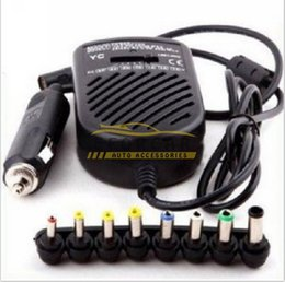 Wholesale Volt Supply - Universal Power Supply Car Charger Adapter For Laptop Mobile Phone Notebook Computer 80W Multifunctional Adapter Power EA3092
