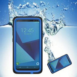 Wholesale Snow Proof Iphone Case - IP68 Waterproof Case For iPhone6 6s 7 7plus Shock Dirt Snow Proof Cases Armor for samsung s8 s8plus Iphone 8 iphone 8plus
