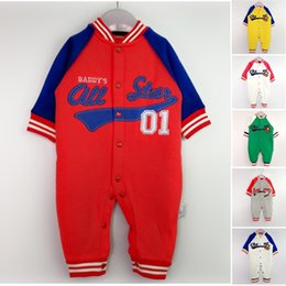 Wholesale China Baby Supplies - 2017 Baby one-piece romper China cheap supply infant clothing 100% cotton