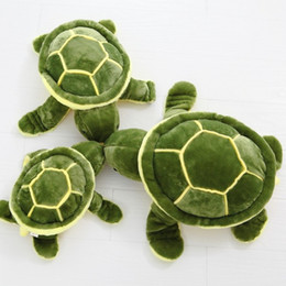 Wholesale Cute Turtle Plush - Wholesale- Free shipping 2015 new cute small eyes turtle tortoise doll stitch plush toys girls dolls baby turtle toy birthday gift 1PC