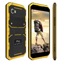 Wholesale Indonesia Stock - Rugged Smartphone E&L Proofings W9 IP68 Waterproof 6.0 inch Android Dual SIM Camera Outdoor 4G LET Cellphone Unlocked Stock in USA