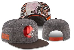 Wholesale Newest Snapbacks For Women - Wholesale 2017 newest fashiong style American football Cleveland basball snapback hat for men women hiphop Brown adjust caps free shipping
