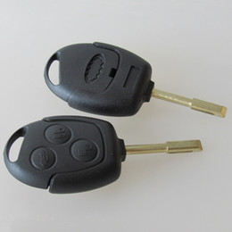 Caso de cáscara alejado del botón del vado online-Auto keyless entry remote case Fob key shell en blanco para Ford mondeo 3 botón remote key cover 20 unids / lote