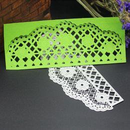 Wholesale Scrapbooking Cards - Mum Flower Lace Metal Cutting Dies Stencil DIY Scrapbooking Album Paper Card Embossing Craft Gift