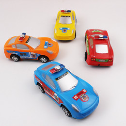 Wholesale Toy Police Cars Models - 4 pcs Police Car toys children Car model toys Diecast Cars Police Ambulance boys Christmas present gift toys