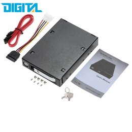 "Wholesale Hot Swap Hard Drive - Wholesale- 2.5"" Single Bay SATA SAS III Hard Drive Enclosure HDD SSD Tray Caddy Internal Mobile Rack Docking Station with Key Lock Hot Swap"