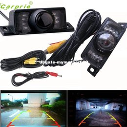 Wholesale Parking Cameras - New Arrival Night Vision Parking Car Rear View Wide Angle LED Reversing Camera Ap511