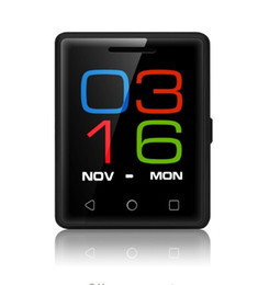 Wholesale Mp3 Touch Watch - NO.1 S8 Mini MobilePhone 1.54inch 2.5D screen MTK2502 128M+64M Bluetooth 4.0 Singal SIM Heart rate 380mAh Battery