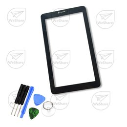 Wholesale Alcatel Digitizer - Wholesale- 7 Inch Touch Screen 9002x 9002a For Alcatel One Touch PIXI 3 (7) 3G Tablet Glass Panel Digitizer Replacement Free Shipping