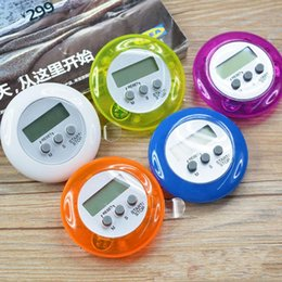Wholesale Timer 24 Hours Digital - novelty digital kitchen timer Kitchen helper Mini Digital LCD Kitchen Count Down Clip Timer Alarm fast shipping F2017137