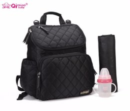 Wholesale Diaper Bag Change - Wholesale-Large Changing Bag For Stroller Fashion Diaper Bag Organizer Nappy Bags Maternity Bags Diaper Backpack Baby Nappy Backpack