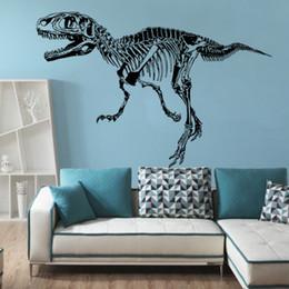Affiches de dinosaures en Ligne-9544 Autochtones Dinosaures Sticker Mural Animaux Dinosaure Silhouette Murale Art Stickers Muraux Animaux Mur Art Affiche Murale Décoration de La Maison