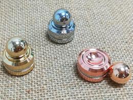 Wholesale Figit Toys - 2017 Hot Toy magnet Figit Hand Spinner Fingertip Gyro Camo Finger Spinners Luminous Cartoon Tri Spinner magnet Fidget Spinner Free Delivery