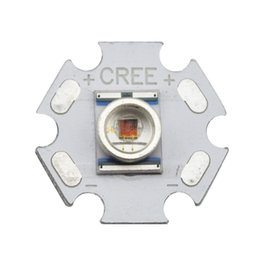 Wholesale Xr E - Wholesale- 5PCS Cree XLamp XRE XR-E Q5 Red 620-630NM 1W 3W LED Light Emitter Bulb mounted on 16mm Or 20mm PCB