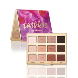 Wholesale NEW Stock Tartelette in Bloom Clay Palette Colors Eye Shadow Palette By Tarte High Performance Naturals DHL Shipping