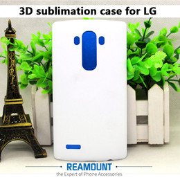 Wholesale Wholesale Sublimation Printing Phone - 3D PC Plastic Hard DIY Matte and Glossy Sublimation Blank Full Printed Phone Case for LG G3 G4 G5 G6 for LG V10 V20 Phone Case