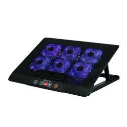 Wholesale Touchscreen Frame - Laptop radiator cooling frame base Six fan 17 inch touchscreen mute 15.6
