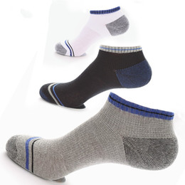 Wholesale thin socks for men - Outdoor Sports Socks Super Strong Reinforcement Sweat Uptake Summer Thin Sock For Man Sport Factory Direct Sale 4 5sb I