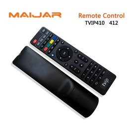 Wholesale Iptv Remote Control - Tvip Remote Control With Logo No Battery Work For Linux Iptv Set Top Box Tvip V.410 V.412 DHL Free Shipping