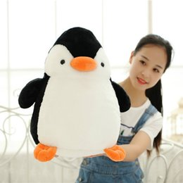 Wholesale Plush Pillow Penguin - High Quality Soft Toy Cute Penguin Big Giant Large Stuffed Soft Plush Toy Doll Pillow gift
