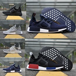 Wholesale Cheap White Shoes For Women - Original NMD_XR1 PK Running Shoes Cheap Sneaker NMD XR1 Primeknit OG PK Zebra Bred Blue Shadow Noise Duck Camo for man woman Boost