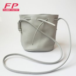 Wholesale Buy Purses - Wholesale- Limit buy Women Bucket Bag Canvas Women Shoulder Bags Quality PU Leather Crossbody Bags Female Purses And Handbags sac a main
